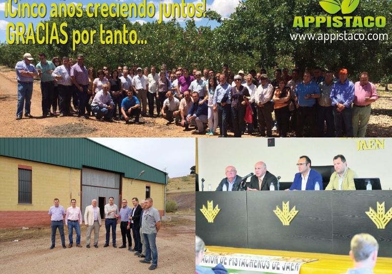 APPISTACO cierra el año superando las 1000 hectáreas de cultivo y los 300 socios