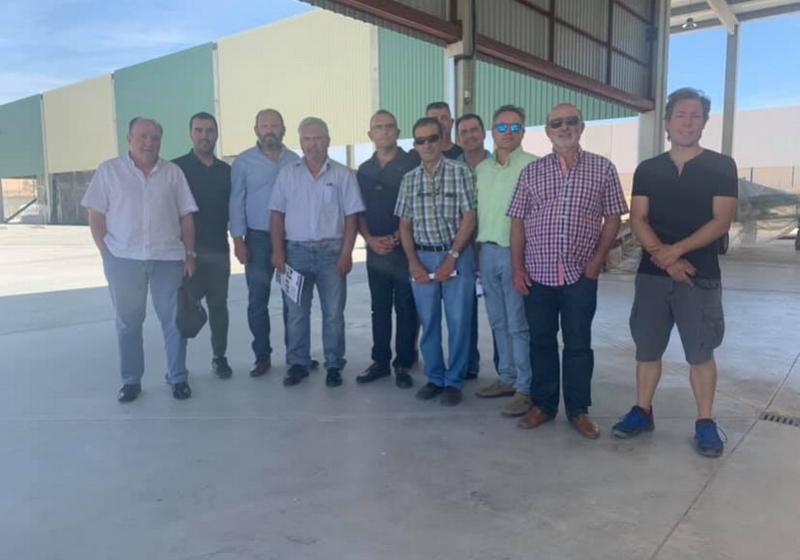 Junta directiva fundadora de la nueva asociación nacional de productores de pistacho | Asociación Española del Pistacho