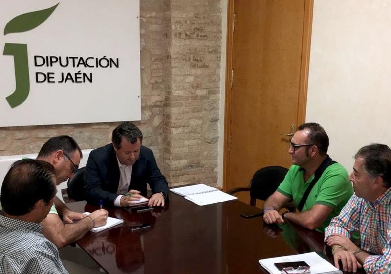 El diputado de Agricultura, Ganadería y Medio Ambiente se ha reunido con miembros de la junta directiva de Appistaco