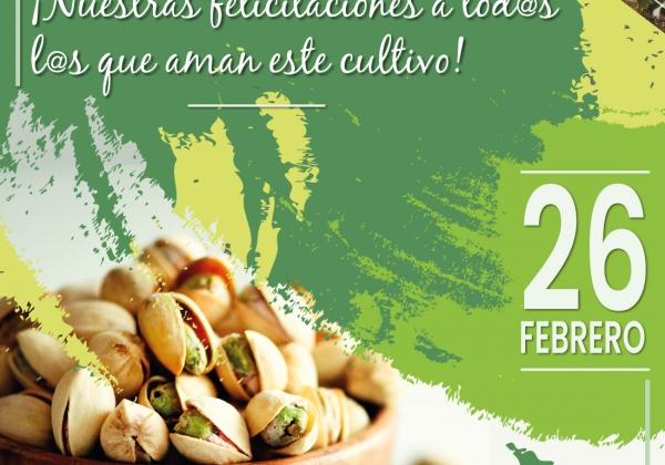 26 Febrero | Día Mundial del Pistacho
