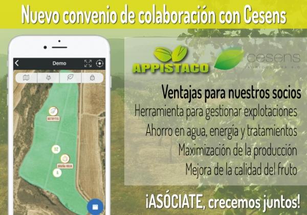 APPISTACO y CESENS firman un convenio de colaboración que ayudará a sus asociados a gestionar sus explotaciones