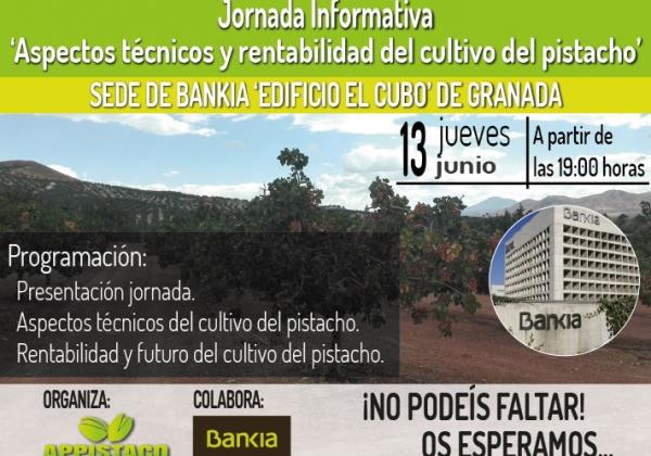 Jornada Informativa 'Aspectos técnicos y rentabilidad del cultivo del pistacho'