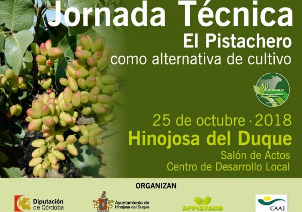 Jornada Técnica 'El Pistachero como alternativa de cultivo' en Hinojosa del Duque (Córdoba)