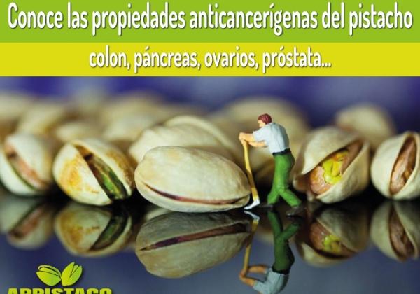 El consumo de pistachos podría reducir el riesgo de padecer cáncer