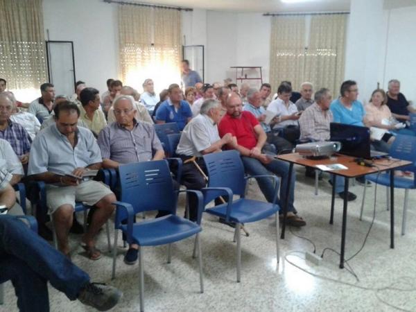 Charlas sobre el cultivo del pistacho en Alcalá la Real e Ibros