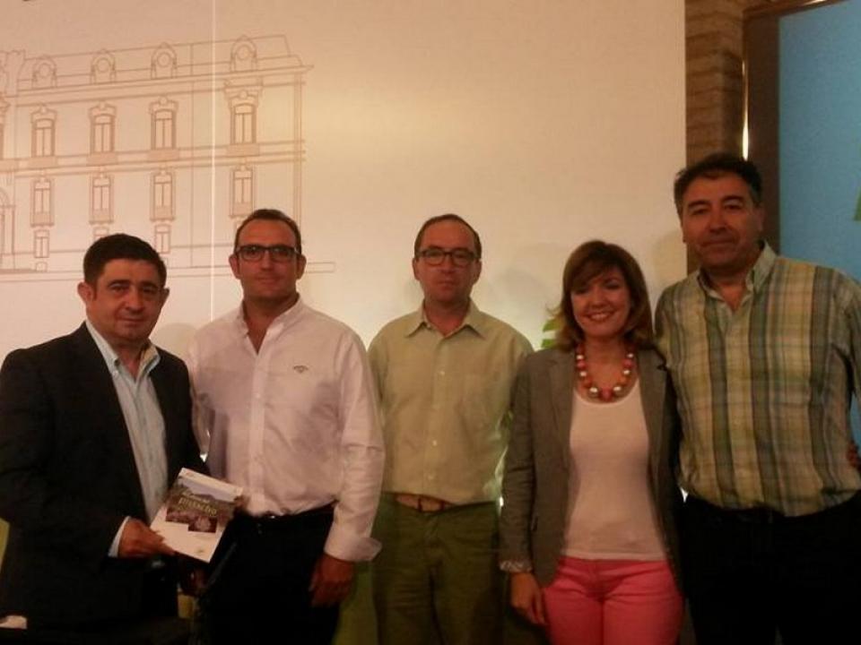 Firma del convenio de colaboración con la Diputación Provincial de Jaén