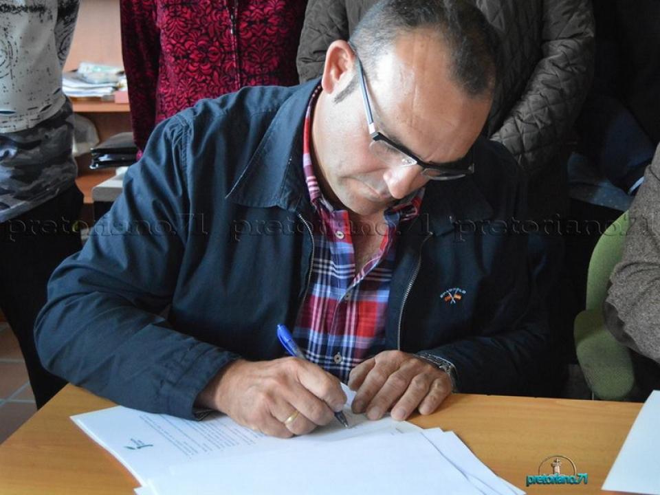 Firma para la renovación del convenio de colaboración con la Diputación Provincial de Jaén
